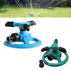 ABS Plastic Sprinkler 360° Lawn Circle Rotating Water 3 Nozzle Garden Equipment