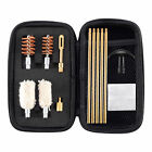Gun Cleaning kit Bore Brush Pick Brass Cleaning Rod in Zippered Organizer Case