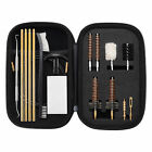 Gun Cleaning kit Bore Brush Pick Brass Cleaning Rod in Zippered Organizer CaseCleaning Supplies - 22700