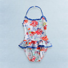 Baby Toddler Girls Rose One-Piece Swimsuit - Multiple Sizes