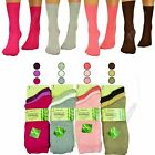 Ladies Super Soft Gentle 3 6 12 Pairs Pack Size 4-7 Bamboo Grip Womens Socks <br/> ANTI BACTERIAL / ODOUR RESISTANT / SWEAT ABSORBING