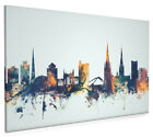 Coventry England Skyline Cityscape Box Canvas and Poster Print (1840)