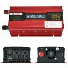 Portable Car LED Power Inverter WATT DC 12V/24V to AC 110V Charger Converter BE