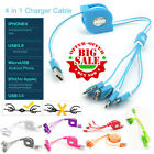 4 in 1 Multi Function Universal USB Charging Charger Cable For All Mobile Phones