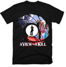 JAMES BOND , A VIEW TO A KILL,MOVIE,100% COTTON,MEN'S T-SHIRT.,E0548 $26.16 AUD on eBay