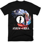 JAMES BOND , A VIEW TO A KILL,MOVIE,100% COTTON,MEN'S T-SHIRT.,E0548 $27.37 AUD on eBay