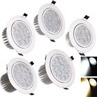 9W Dimmable LED Ceiling Recessed Down Light 3W 18W Fixture Lamp Light & Driver