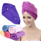 cap towel towels bathing spa dryer magic