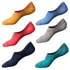 3 Pair Men Invisible Socks Nonslip Ankle Loafer Boat Liner No Show Low Cut Socks