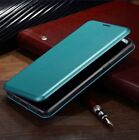 Luxury  Samsung Galaxy S9 S8 Slim Flip Magnetic Leather Case Cover Stand