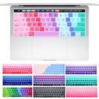 US Silicone Gradient Keyboard Cover For Macbook Pro 13 15 Touch Bar A1706 A1707