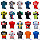Mens Cycling Bicycle Jersey Sports Clothing Short Sleeve Road Bike Tops 2018