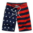 Kute 'n' Koo USA American Flag Big Boy's Swim Shorts, Patriotic Trunks,...