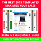Ebay Listing Template 2018 Responsive Auction Professional mobile design HTML