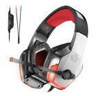 Excellent UNIVERSIAL V4 Gaming Headset LED Light Surrounding Stereo Earmuffs