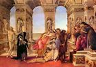 Sandro Botticelli Calumny of Apelles Painting Picture Art Print A3 A4