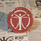 Brotherhood of Steel Minutemen 4 Factions Logo Badge 58mm Tin Button For Fallout