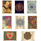 Внешний вид - India Mandala Posters Bohemian Poster Retro Kraft Paper A3 Size Wall Decor