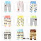 Внешний вид - Baby High Waist Cotton Trousers Pants For Toddler Girls Boys Child Kids Outfits