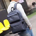 Anti-theft Laptop School Bag Men's Travel Backpack Oxford Canvas Usb Charge Port