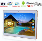 Octa-Core 10'' 4G+64G Android Sim Wifi 4G+64G Pad Tablet PC Phablet AU 6B42