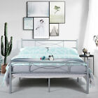 Platform Bed Frame Queen Twin Full Size Metal Bed Mattress Foundation Headboard <br/> 5 Styles Headboards+Footboards✔ Multi-Colors✔ 10%OFF✔