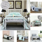 Kyпить Platform Bed Frame Queen Twin Full Size Metal Bed Mattress Foundation Headboard на еВаy.соm
