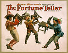 Photo Printed Old Poster Theatre From 1800'Salice Nielsens The Fortune Teller 01