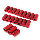 UK Aluminum Alloy Coupling Red Shaft Coupler with Hex Wrench and Screws Motor
