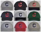 Cleveland Indians Polo Style Cap ~Hat ✨CLASSIC MLB PATCH/LOGO ✨10 HOT COLORS✨NEW on Ebay