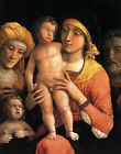 Photo/Poster - Holy Family With Saints Elizabeth And Infant John Baptist - Mante