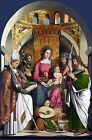 Photo/Poster - Virgin And Child With Saints - Marziale Marco Active 1492 1507