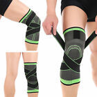 3D Weaving Knee Brace Pad Support Protect Compression Running Jogging Sports @7h