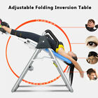 Inversion Table Hanging Up Foldable Fitness Back Therapy Pain Flip Upside Down image