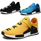 Men Lace Up Flat Casual Gym Running Sneakers Breathable Mesh Spor Slip On Shoes