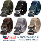 Mens Rigger's Belt Military Tactical Training Belt Made with Heavy Duty Nylon