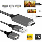 3in1 1080P HD USB to HDMI Cable Cord Converter for iPad/iPhone/Android Phone 3ft