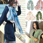 Внешний вид - Women's Fashion Long Soft Warm Cotton Chiffon Silk Scarf Wrap Shawl Pashmina