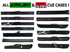 Pool Snooker Hard / Soft Cue Case ALL BCE & RILEY CASES For 50/50 Split Cue £8.9 GBP on eBay