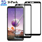 Premium Tempered Glass Screen Protector Film For LG Stylo 5 3 4 /Stylus 3 4 Plus