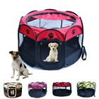 US Oxford Large Pet Dog Cat Playpen Tent Portable Sport Fence Kennel Cage Crate