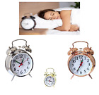 Champion Double Bell Keywound Alarm Clock, SILVER 12 MONTHS WARRANTY