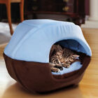 Cat Kennel Tent Dog House Foldable Puppy Cave Pet Sleeping Warm Bed Mat Pad Nest