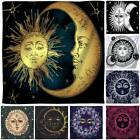 Sun and Moon Bohemian Tapestry Hippie Wall Hanging Room Beds