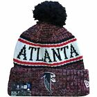 2018 Cold Weather On Field Atlanta Falcons Sideline Knit Fleece Pom Beanie on eBay