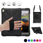 360 Degree Rotatable Rugged Shock Proof Stand Hand Strap For iPad Pro 10.5 9.7 2