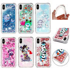 Painted Quicksand Non-slip Grip Drop Protection Soft Liquid Cover For Phones