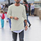 Winter Men Crewneck Casual Long Sleeve Jumper Warm Knitted Sweater Shirt GIFT