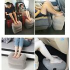 Inflatable Portable Travel Footrest Pillow Plane Train Kids