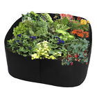 Fabric Raised Home Garden Bed Baskets Planting Pots Window Boxes Plant Care Bags